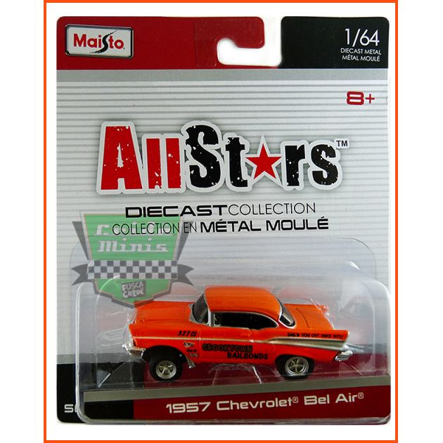 Maisto Chevrolet Bel Air 1957 - escala 1/64