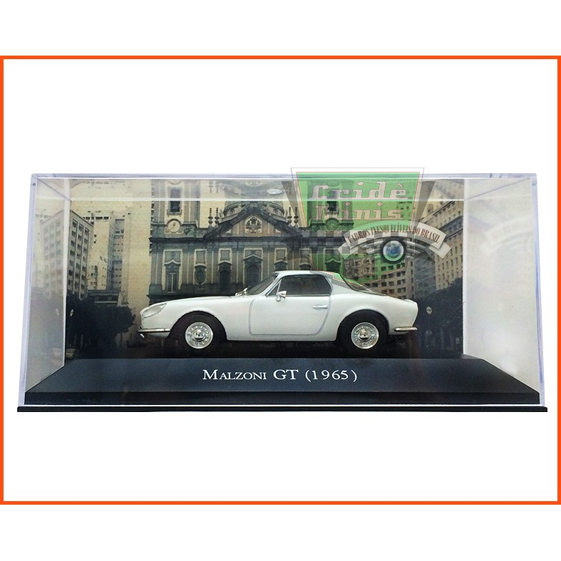 Malzoni GT 1965 - Carros Nacionais - escala 1/43