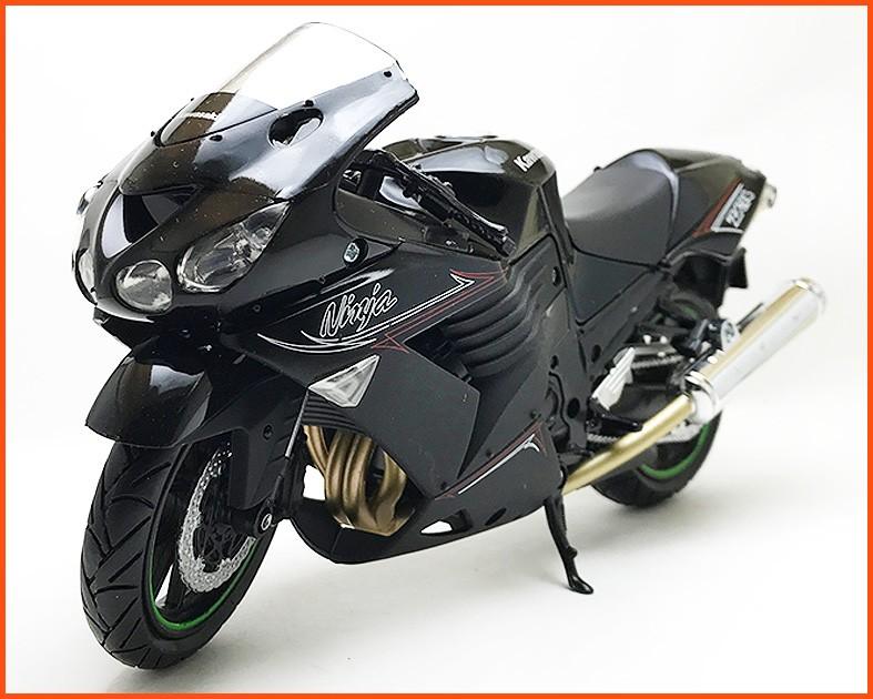 Moto Kawasaki Ninja ZX14 - escala 1/12
