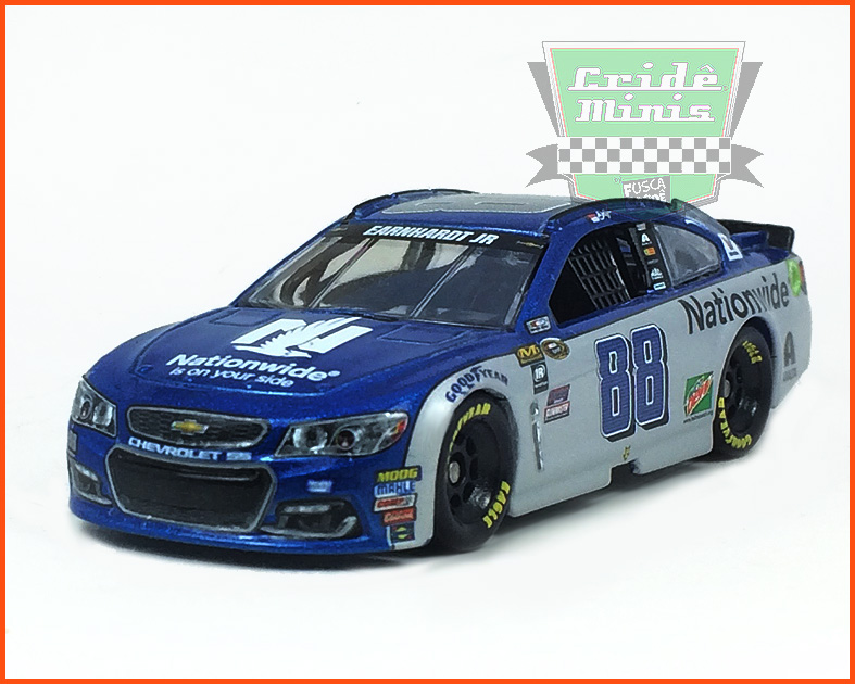 Nascar Chevrolet SS 2016 Dale Earnhardt Jr. - Nationwide - escala 1/64