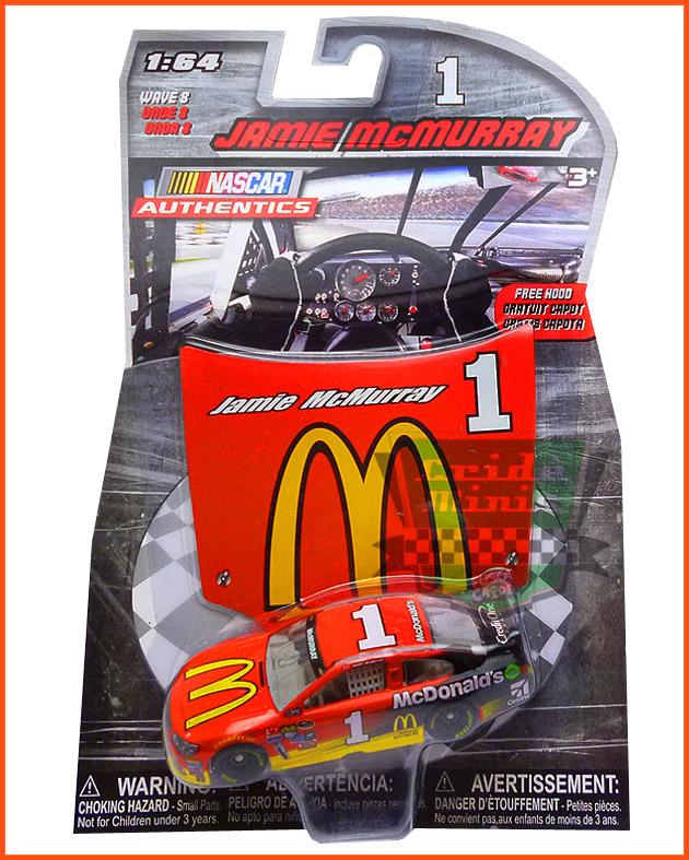 Nascar Chevrolet SS 2016 Jamie McMurray #1 McDonald's - escala 1/64