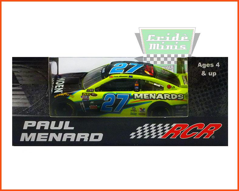 Nascar Chevrolet SS 2016 Paul Menard #27 MOEN - escala 1/64