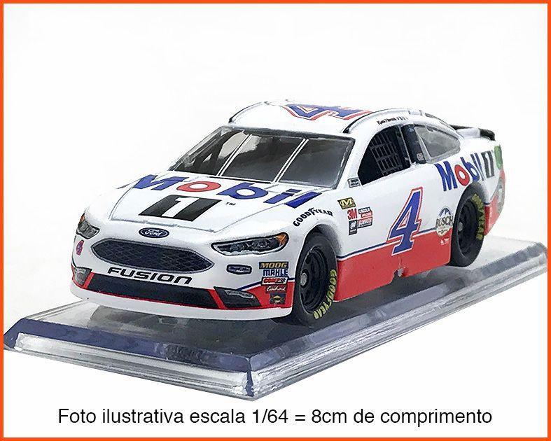 Nascar Ford Fusion 2018 Kevin Harvick #4 Mobil - escala 1/64