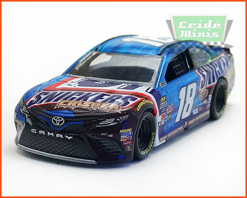 nascar toyota camry 2017 kyle busch 18 snickers. Black Bedroom Furniture Sets. Home Design Ideas