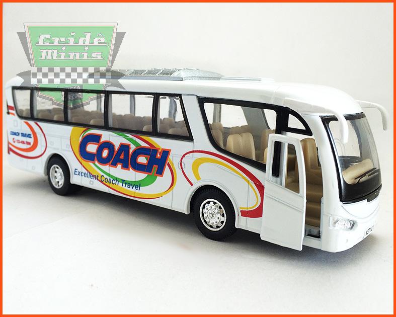 Ônibus Turismo Coach - escala 1/32