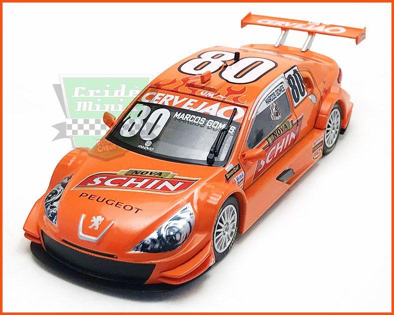 Peugeot Stock Car #80 2013 Marcos Gomes - escala 1/43