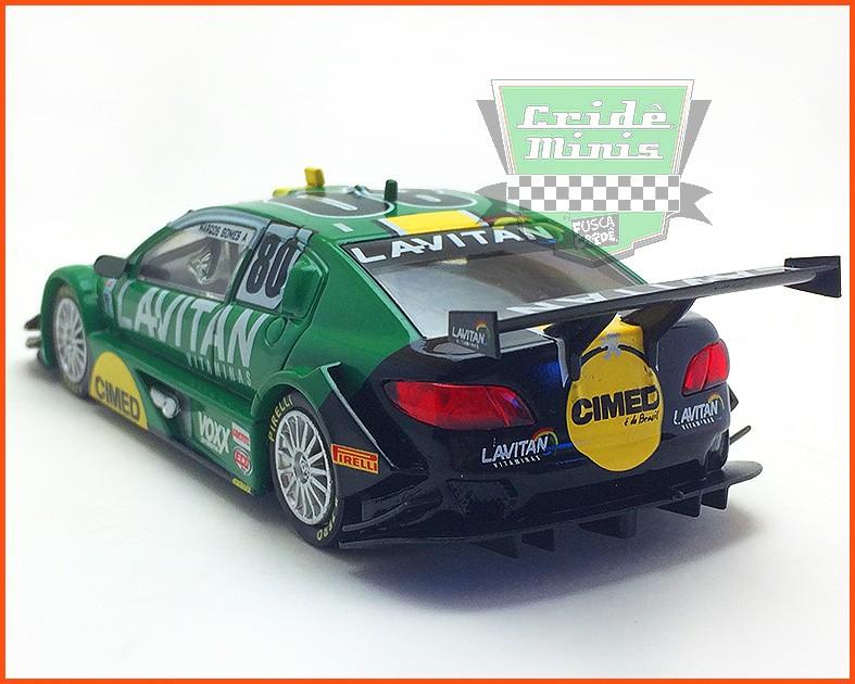 Peugeot Stock Car #80 - Marcos Gomes - escala 1/43