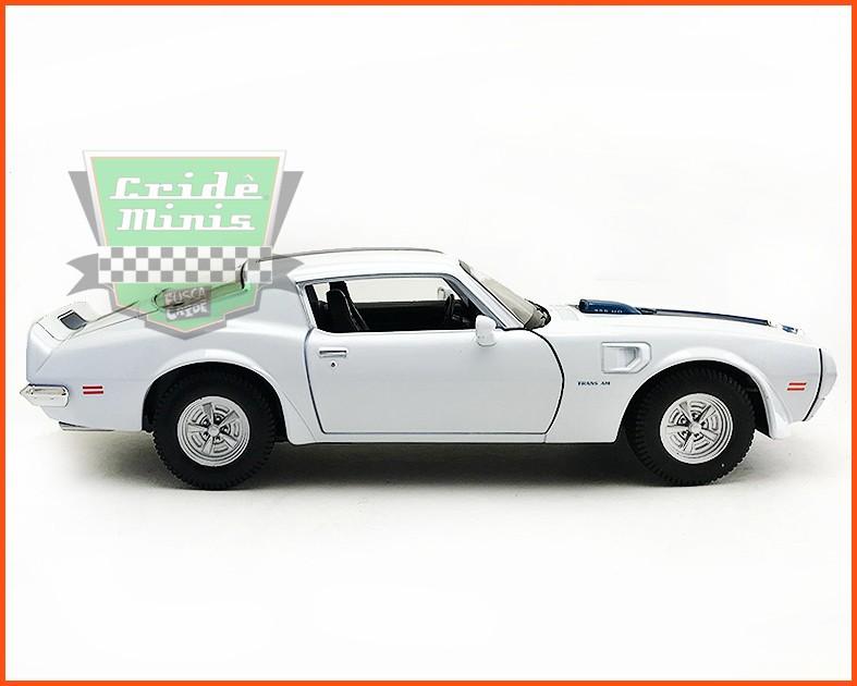 Pontiac Firebird TRANS AM 1972 White - escala 1/24
