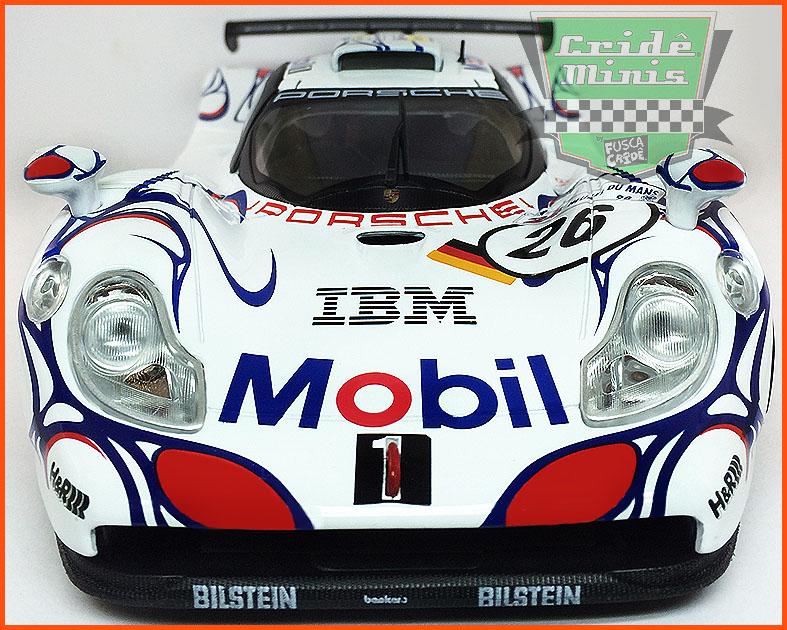 Porsche 911 GT1 1998 LEMANS Série Limitada - escala 1/18