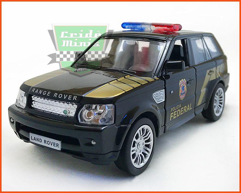 Range Rover Polícia Federal - escala 1/32