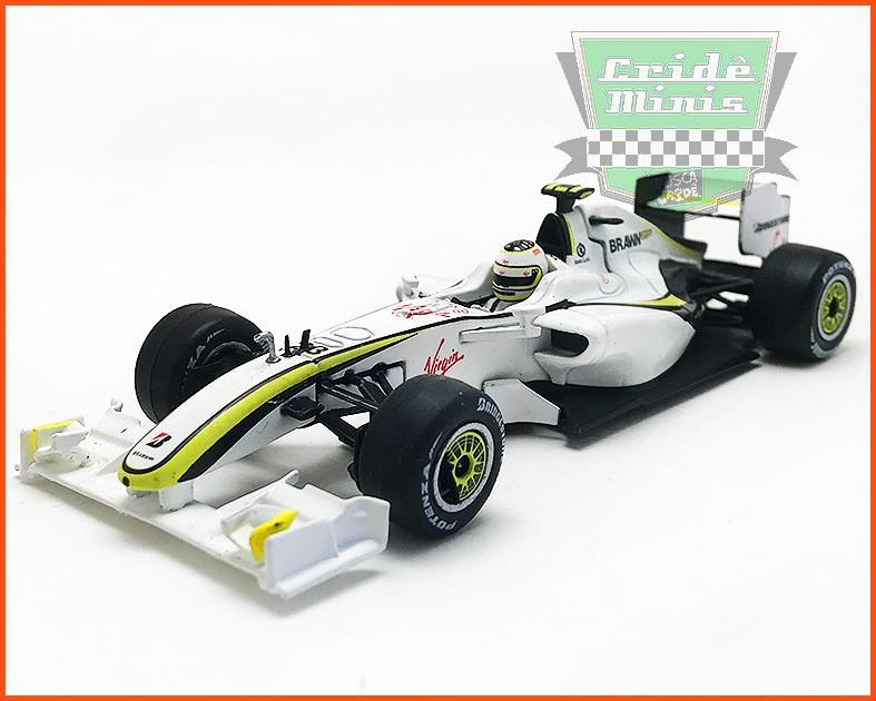 Rubens Barrichello Braw Mercedes 2009 - escala 1/43