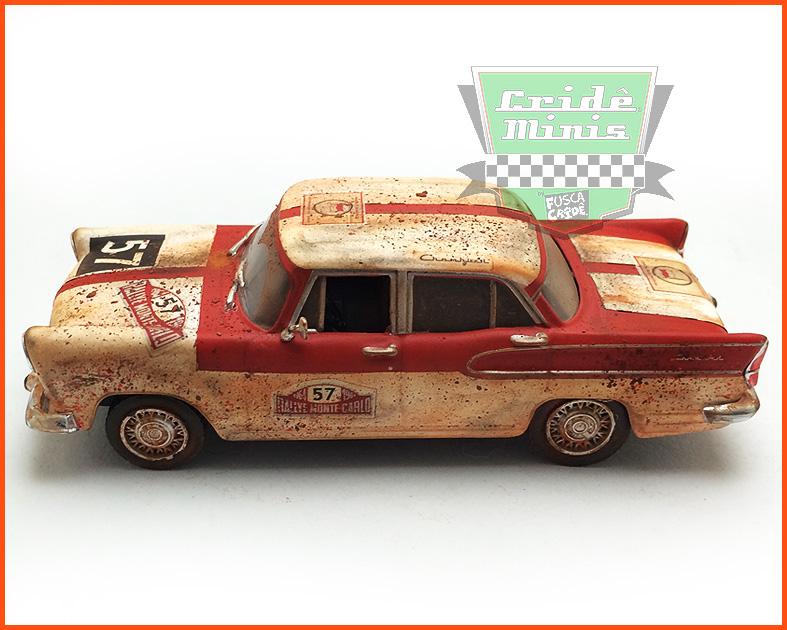 Simca Chambord 1960 Rally Monte Carlo 15 dias de produção - escala 1/43