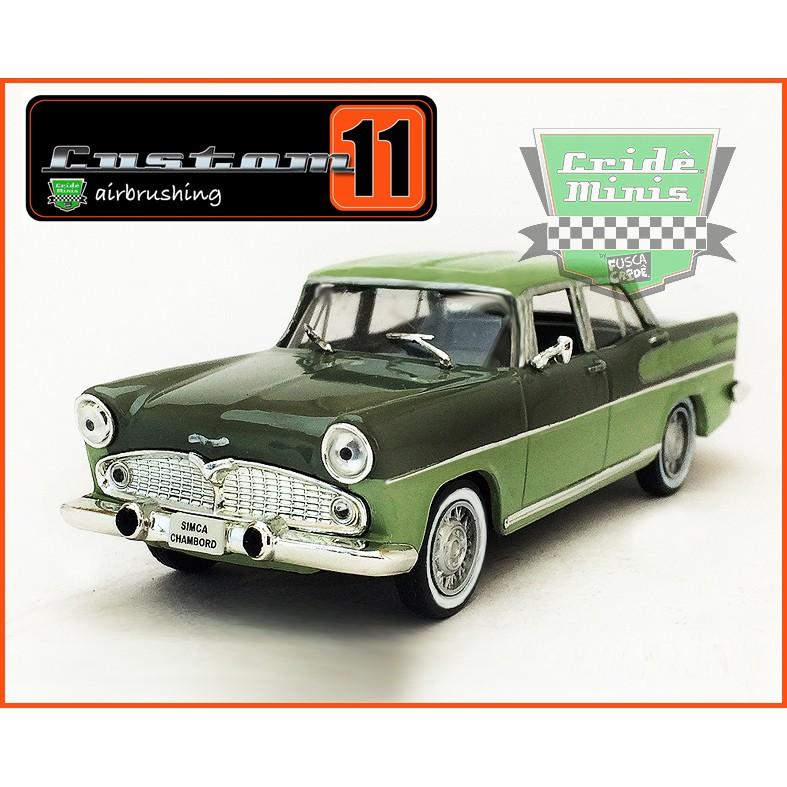 Simca Chambord 1966 - 20 dias de produção escala 1/43