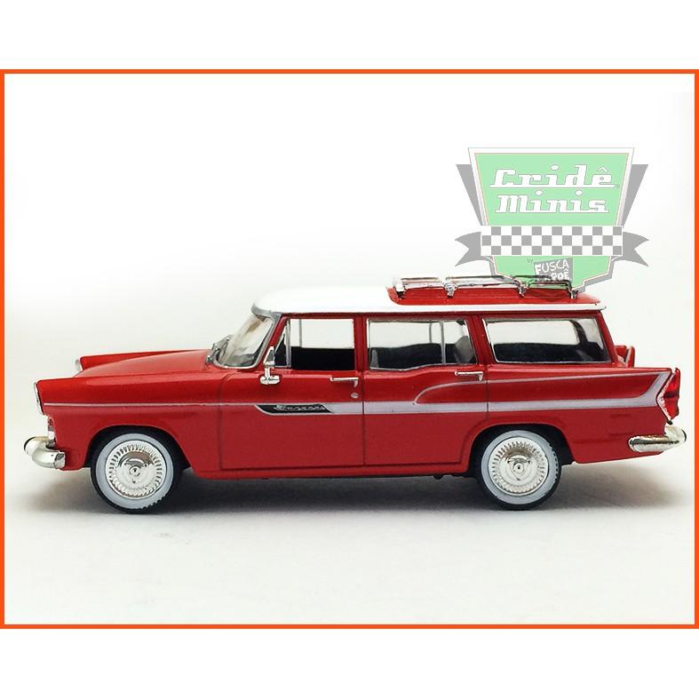 Simca Jangada 1962  - Carros Nacionais - escala 1/43