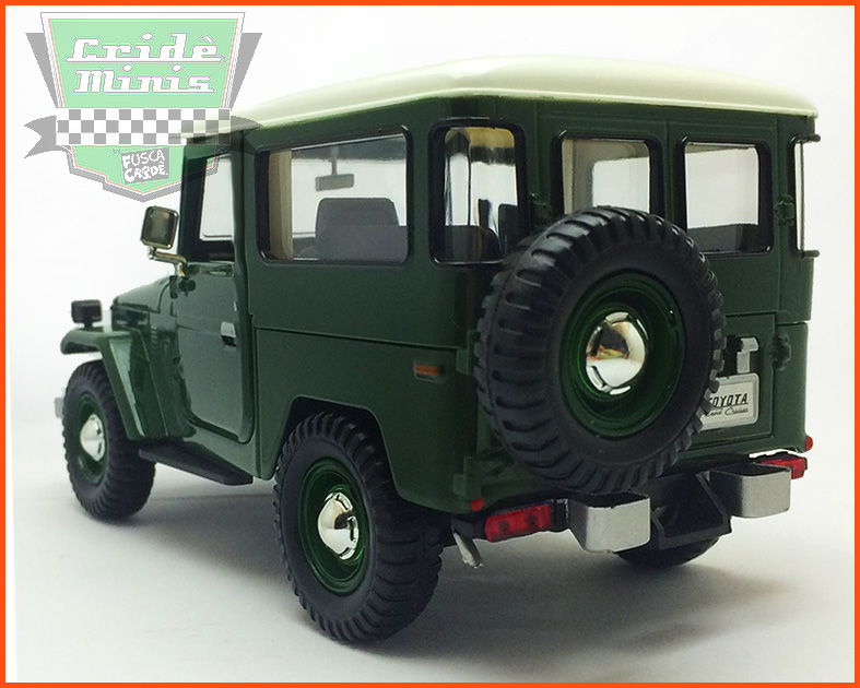 Toyota Bandeirante 1967 - escala 1/24