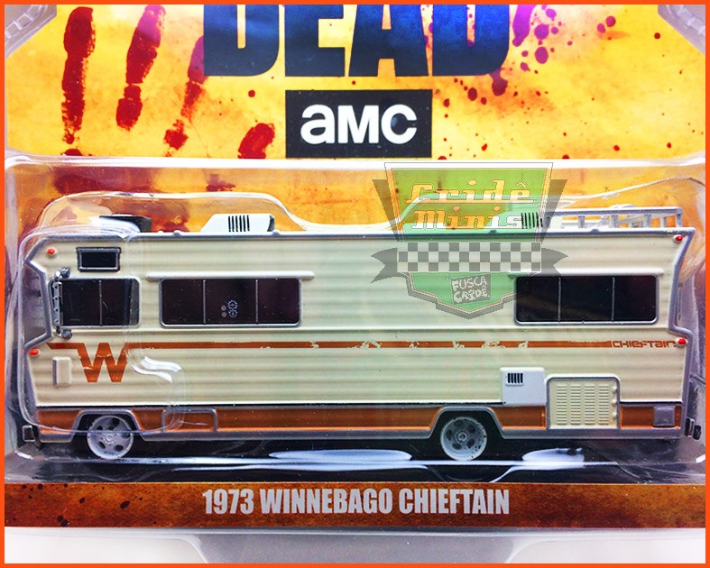 Trailer Winnebago Chieftain 1973 - Filme Walking Dead - escala 1/64