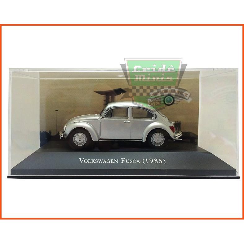 VW Fusca Sedan Fafá 1985 - Carros Nacionais - escala 1/43