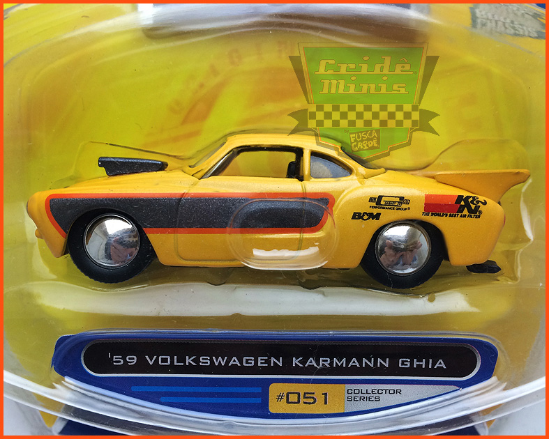 VW Karmann Ghia 1959 Vdubs 2008 - escala 1/64