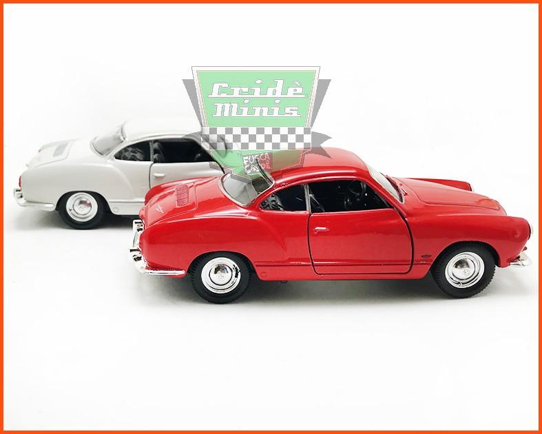 VW Karmann Ghia 2 peças - Carros Nacionais - escala 1/43