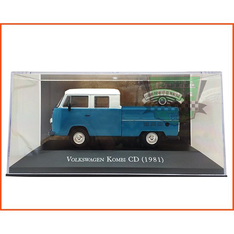 VW Kombi Cabine Dupla Pick-up 1981 - Carros Nacionais - escala 1/43