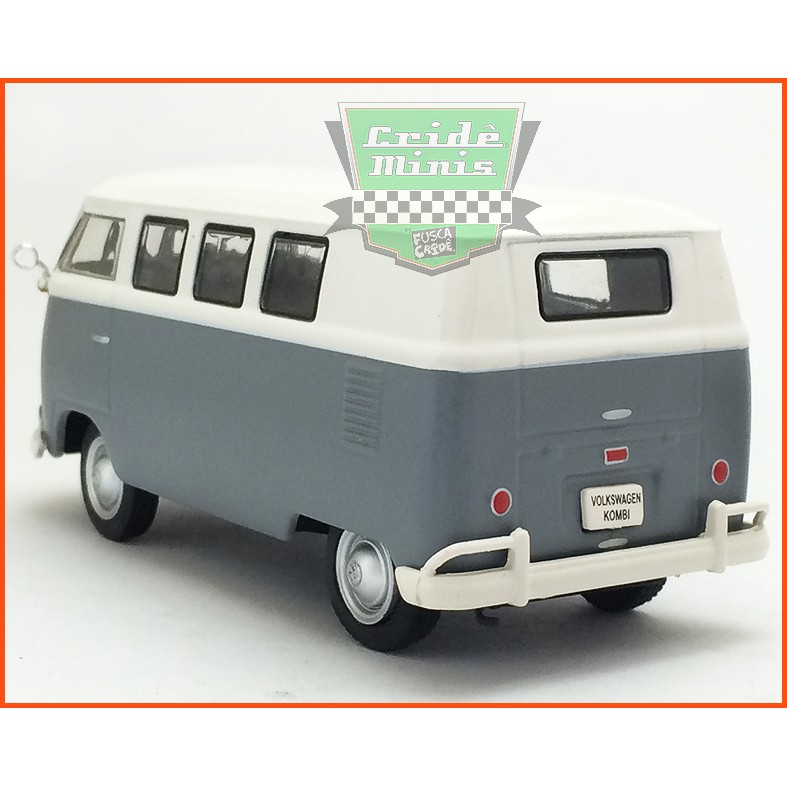VW Kombi Sedan 1200 1957 - Carros Nacionais - escala 1/43
