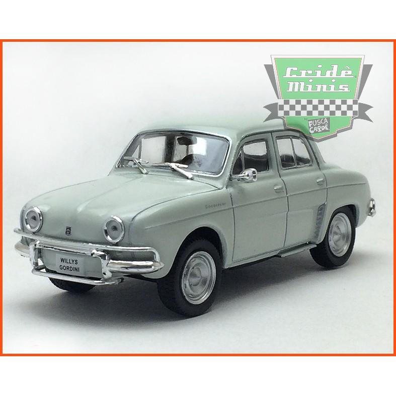 Williys Gordini 1965 - Carros Nacionais - escala 1/43