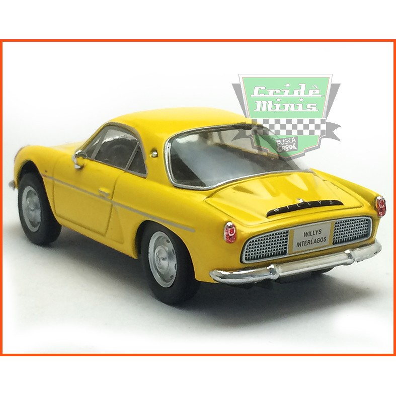 Willys Interlagos 1963 - Carros Nacionais - escala 1/43