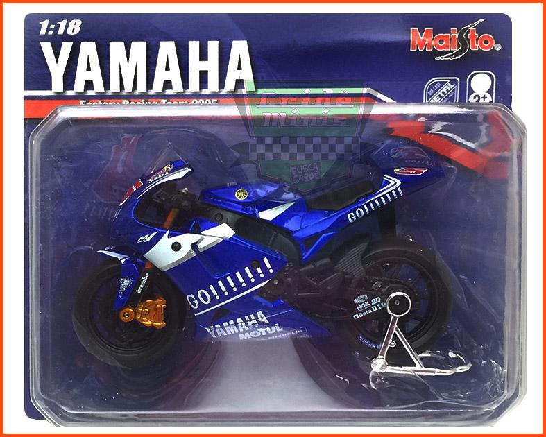 Yamaha Moto GP 2005 GO! - escala 1/18