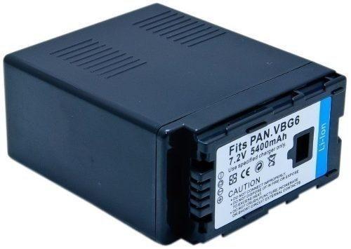 Bateria Estendida Vw-vbg6 Para Panasonic Ag-hmc40 Ag-hmc40p
