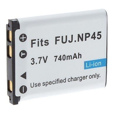 Bateria Np-45 P/ Fujifilm J10 12 S610 Z30 X33 J250 Z70 Jv100