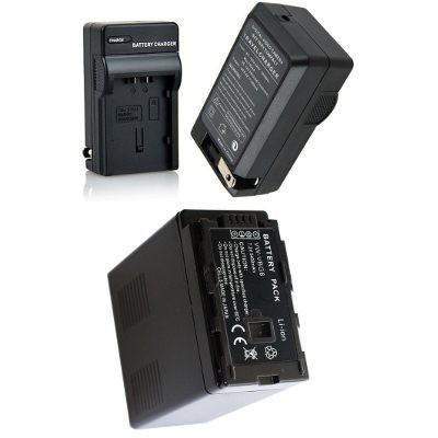 Bateria Vw-vbg6 + Carregador P/ Panasonic Ag-ac7 Ag-hmc80