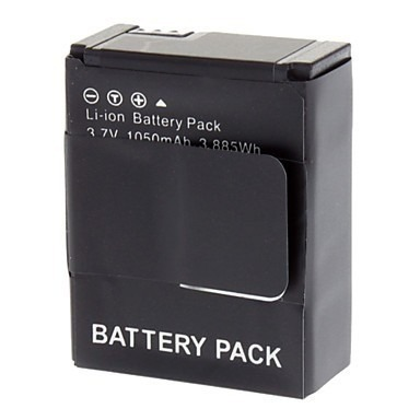 Bateria Para Go Pro Gopro Hero 3 Bateria Li-on Ahdbt-301 Ahdbt-302