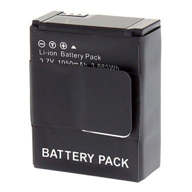 Bateria Para Gopro Go Pro Hero3+ 1050mah  Ahdbt-302