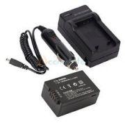 Kit Bateria Dmw-bmb9 + Carregador Panasonic Lumix Dmc-fz100