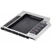Adaptador Dvd Caddy Segundo Hd Ssd Note Dell Acer Sti 9,5mm Novo
