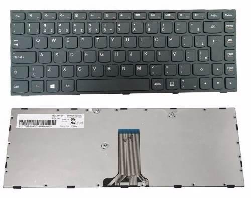 Teclado Para Notebook Lenovo G40-80 P/n: Pk130tg2a28 Br Ç
