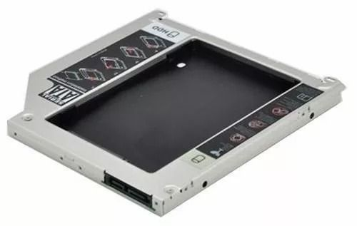Caddy Para Notebook Todas As Marcas Hd Ssd 2.5 Sata 9.5mm  - ENERGIA DIGITAL