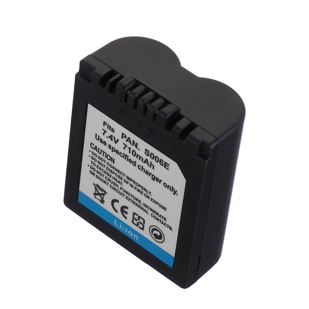 Bateria para Câmera Panasonic Lumix CGA-006A CGA-S006E CGA-S006