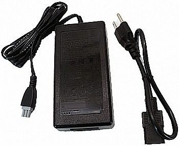 Fonte Para Impressora Hp Deskjet F4180 Plug Cinza + Cabo De Força