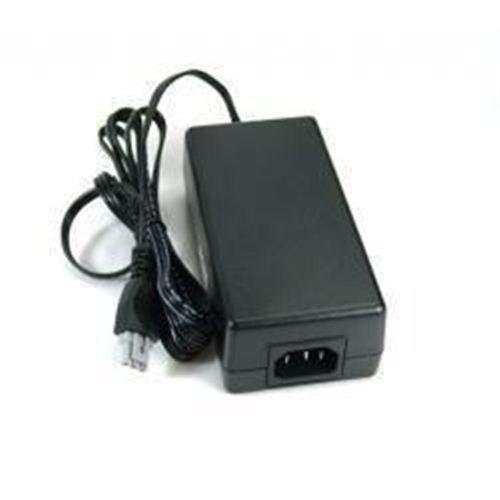 Fonte Impressora Hp D2460 Plug Cinza + Cabo Força  - ENERGIA DIGITAL