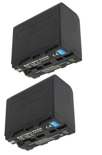 Kit com 2 Baterias Np-f970 Para Iluminador De Led Cn160 Cn127