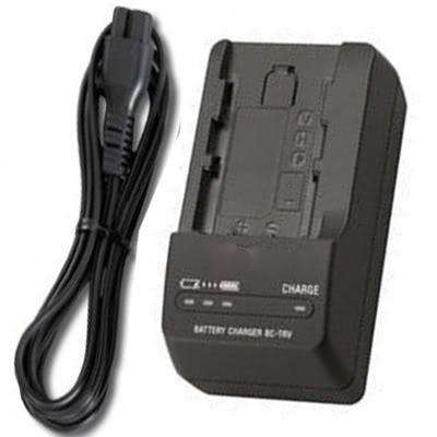 Carregador de bateria P/ Sony A230 Hx1 Sr87 Sr77e Fh30 Np-fh50 Dcr-hc47