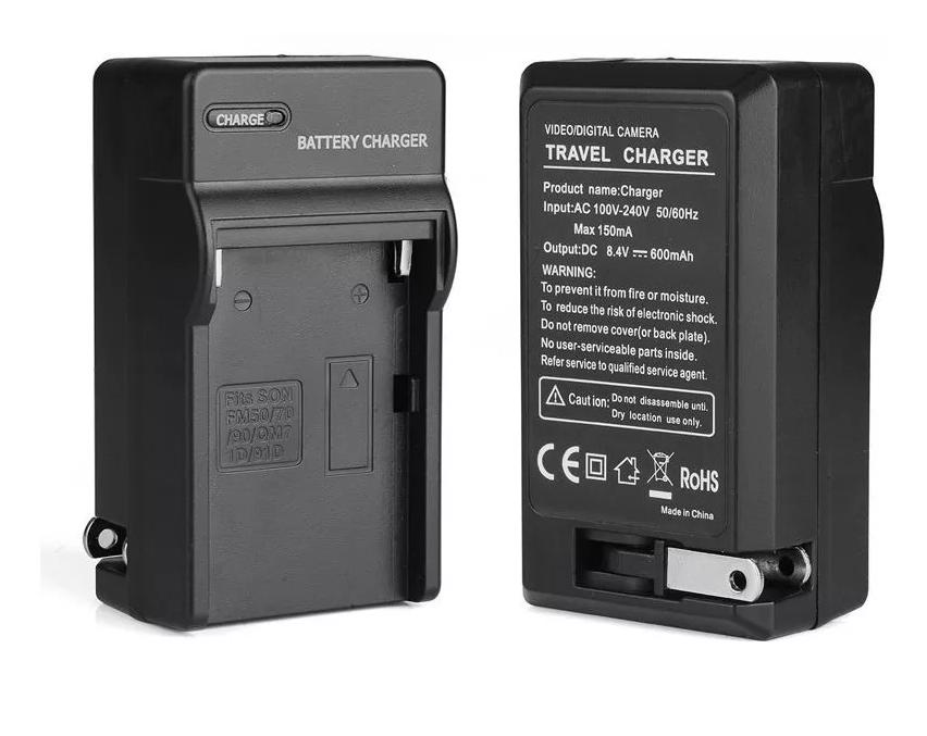 Carregador P/ Sony Np-f960 Np-f330 Np-f550 Np-f570 Np-f970  - ENERGIA DIGITAL