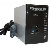 Modulador Agil Proeletronic Camera Seguran�a Catv Uhf Vhf