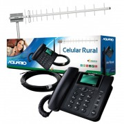 Kit Celular Rural Aquario Ca-900 Antena 17dbi
