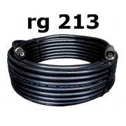 Cabo Descida 30 Metros Rg 213 Antena Celular Rural N macho x TNC macho