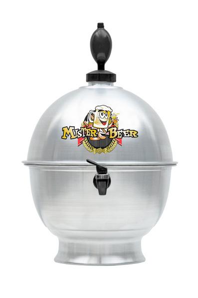 Chopeira em Alumínio 6,6 Litros - Mister Beer - Loja Portal