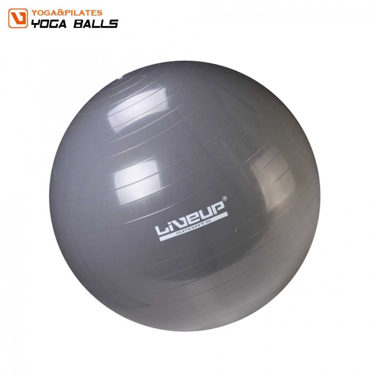 Bola Suíça Para Pilates 85Cm Live Up + Grátis Bomba Inflar - Loja Portal