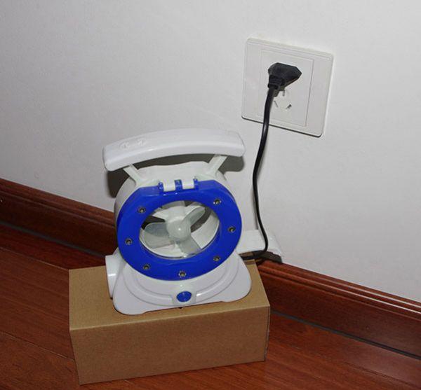 Ventilador / Luminaria para Barraca - Nautika - Loja Portal