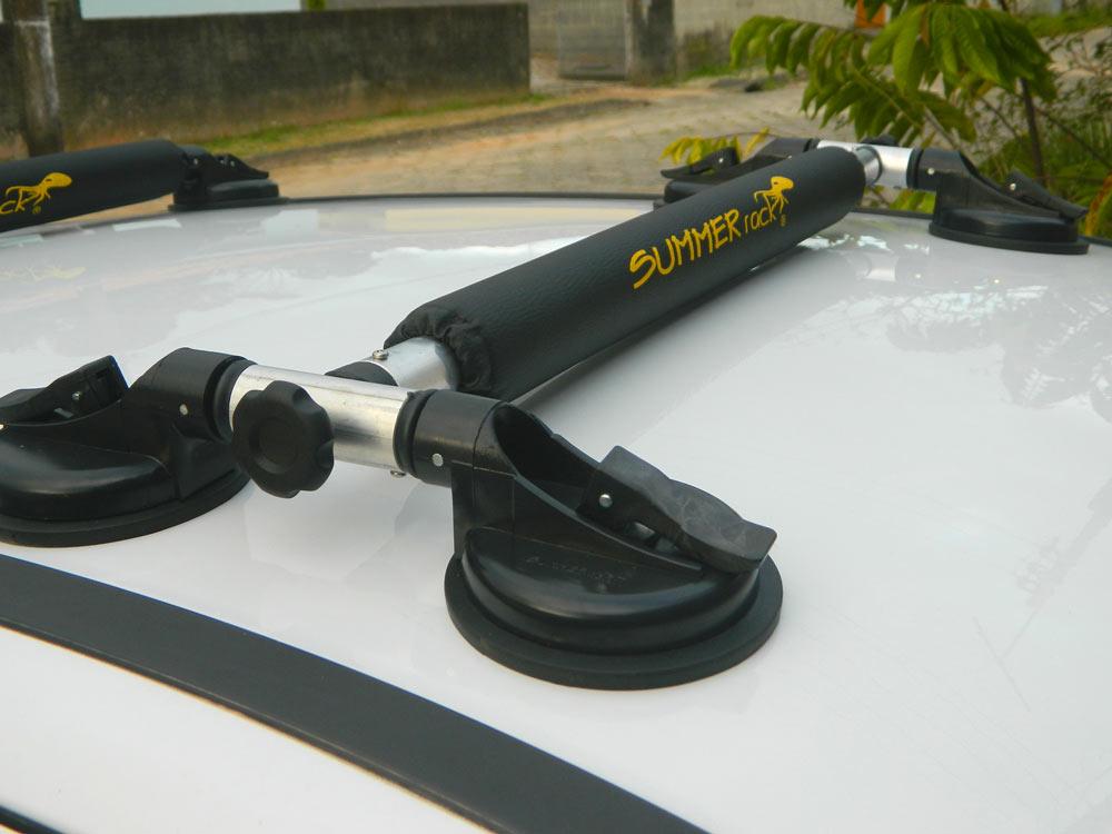 Summer Rack Universal 6 Ventosas para Caiaque Barracuda, Pranchas e Windsurf - Loja Portal